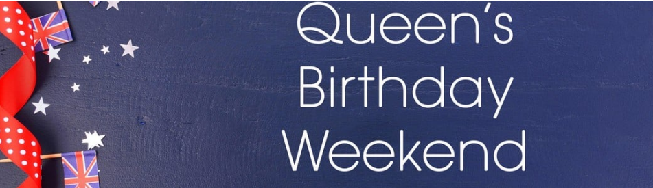 Queen's Birthday 2019 Operating Hours