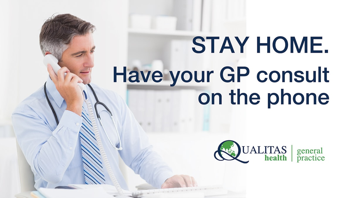 Have your GP consult on the phone